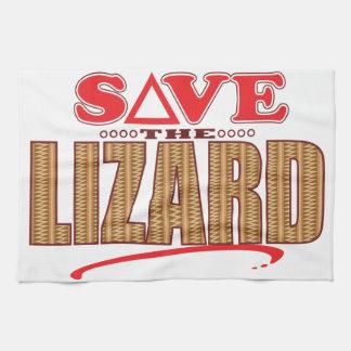 Lizard Save Hand Towels