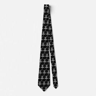 Lizard Skeleton Tie