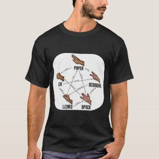 Lizard-Spock Dark T-Shirt