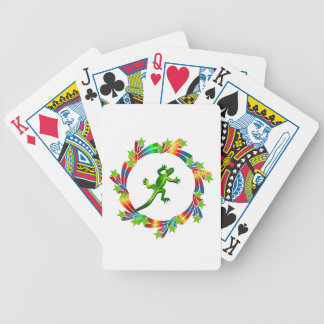 Lizard Stars Bicycle Playing Cards