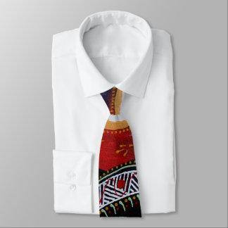 Lizard Sun Aboriginal Tie