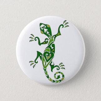 Lizard Tattoo 2 Inch Round Button