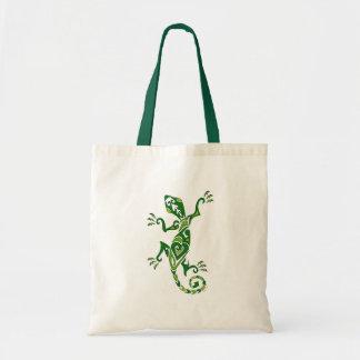 Lizard Tattoo Tote Bag