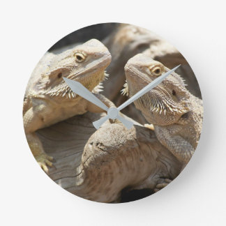 Lizard Time Bearded Dragon Clock