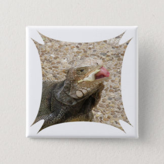 Lizard Tongue Square Pin