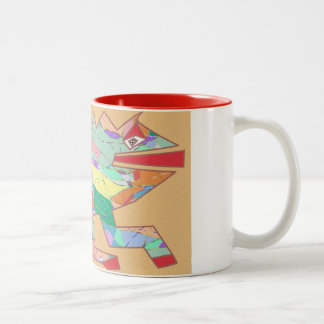 Lizard Two-Tone Coffee Mug