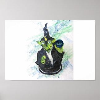 Lizard Wizard Poster