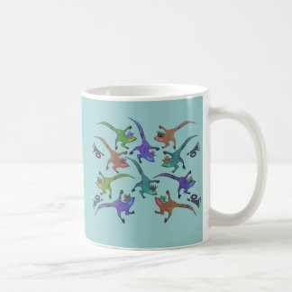Lizards Leaping Mug