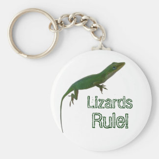 Lizards Rule! Keychain