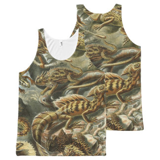 lizards ver 1 All-Over-Print tank top