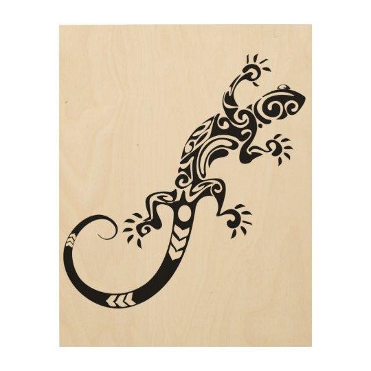 Lizards! Wood Wall Art