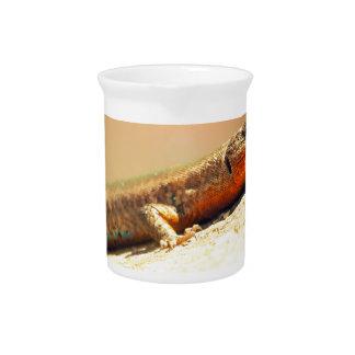 Lizart heat beverage pitcher