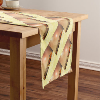 Lizart heat short table runner