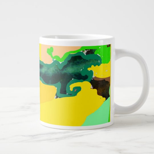 Lizzard Large Coffee Mug