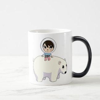 Lizzy and Frosting the Polar Bear Magic Mug