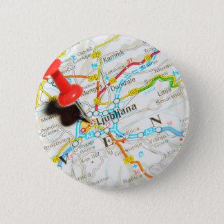 Ljubljana, Slovenia 2 Inch Round Button