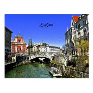 Ljubljana, Slovenia Postcard