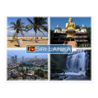 LK Sri Lanka - Postcard