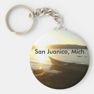 Llabero de San Juanico, Mich. Keychain