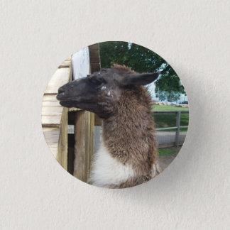 Llama 1 Inch Round Button
