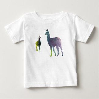 Llama art baby T-Shirt