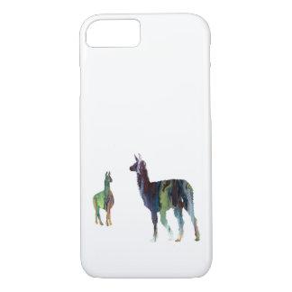 Llama art iPhone 8/7 case