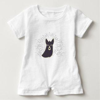Llama Baby Romper