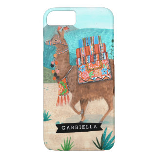 Llama Cactus Tropical | Iphone Case