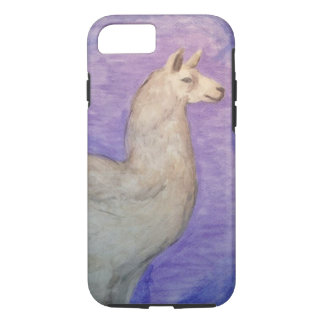 Llama Case - Original Watercolor Painting