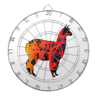 Llama Expressions Dartboard