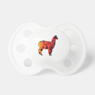 Llama Expressions Pacifier