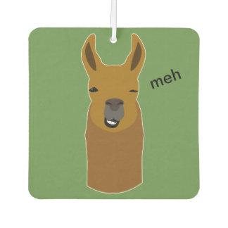 Llama Funny Face Air Freshener