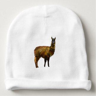 Llama geo design baby beanie