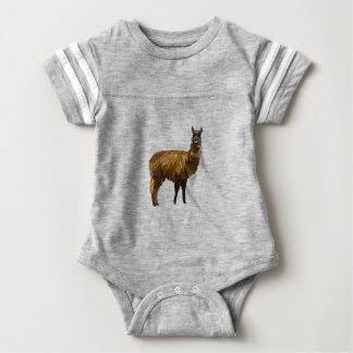 Llama geo design baby bodysuit