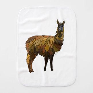 Llama geo design burp cloth