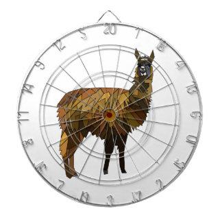 Llama geo design dartboard