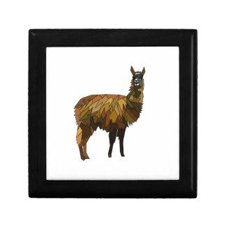 Llama geo design gift box