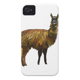 Llama geo design iPhone 4 case