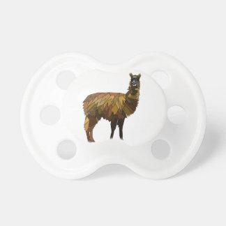 Llama geo design pacifier