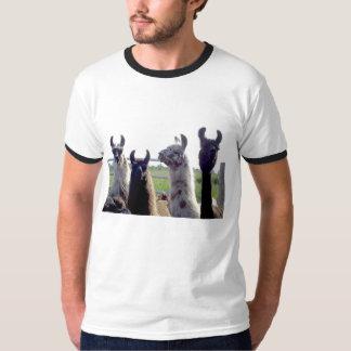 Llama heads T Shirt