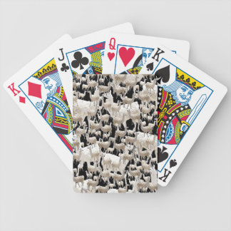 Llama Llama and more Llamas Bicycle Playing Cards