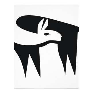 Llama NegaSpace Letterhead