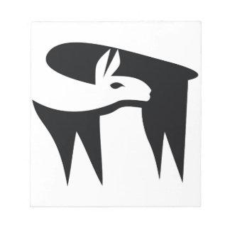 Llama NegaSpace Notepad