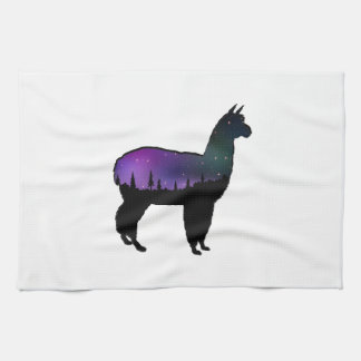 Llama Nights Kitchen Towel