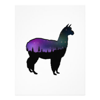 Llama Nights Letterhead