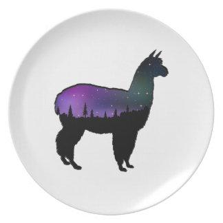 Llama Nights Plate