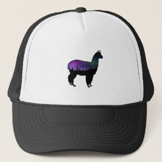 Llama Nights Trucker Hat