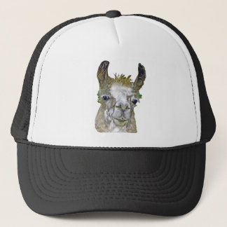 Llama Picture Trucker Hat