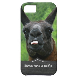 llama take a selfie iPhone 5 case