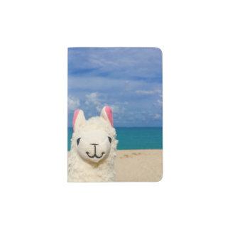 Llama With No Drama Passport Holder